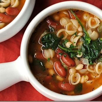 Olive Garden Inspired Minestrone Soup Recipe - ZipList
