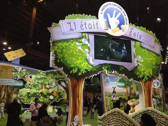 Streetplanneur >> Stand CNIEL / Produits Laitiers - Salon de l'agriculture 2012