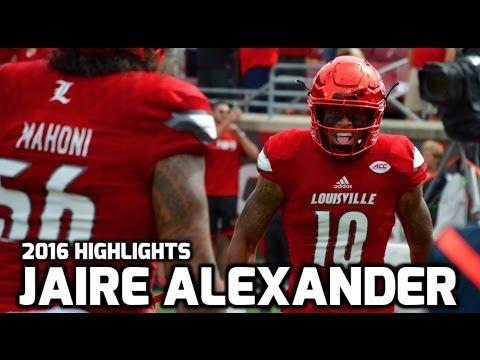 IDP Devy Player Profile: Jaire Alexander, CB, Louisville Cardinals ...