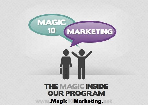 Magic 10 Marketing Presentation http\/\/wwwMagic10Marketinginfo - marketing presentation