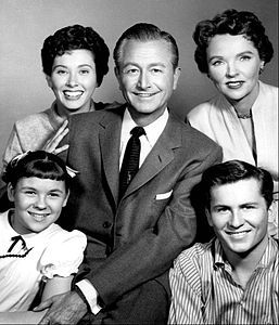 Father Knows Best cast photo 1962