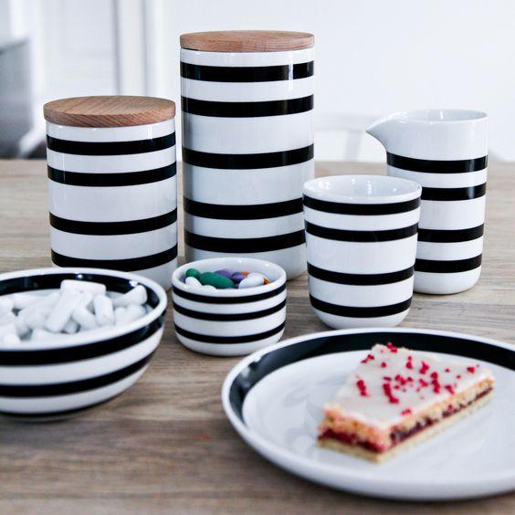 Verleiht eurer Küche mit den Omaggio Aufbewahrungsdosen von Kähler Design einen monochromen Touch !