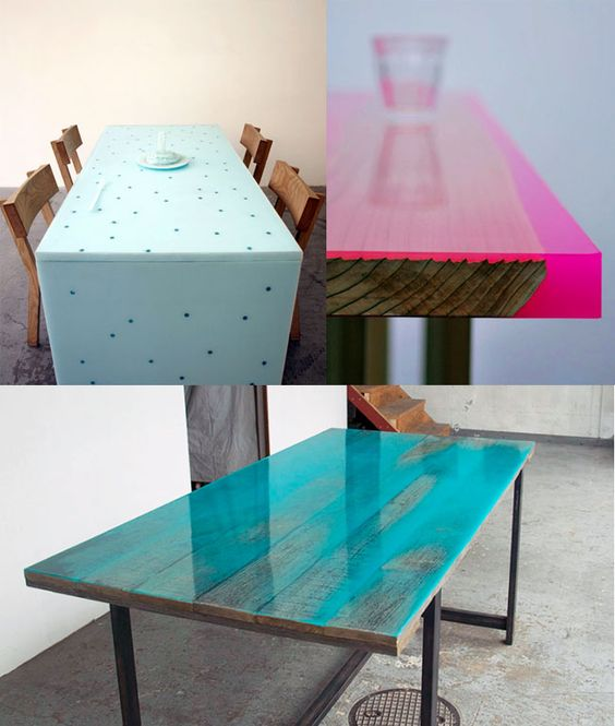 Sculptural Resin Table Made From Year Old Wood Httpwww - This amazing resin table is made using 50000 year old wood