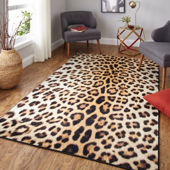 Mohawk Home Prismatic Cheetah Spots Everstrand Rug Kohls Animal Print Rug Area Rugs