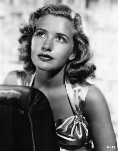 """Priscilla Lane. I loved the movie """"Arsenic & Old Lace"""" with Cary Grant."""
