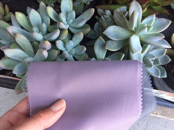Dusty lavender bridesmaid dress color #1