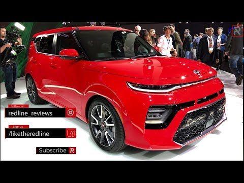 2020 Kia Soul Gt Line Redline First Look 2018 La Auto Show Youtube La Auto Show Kia Soul Kia
