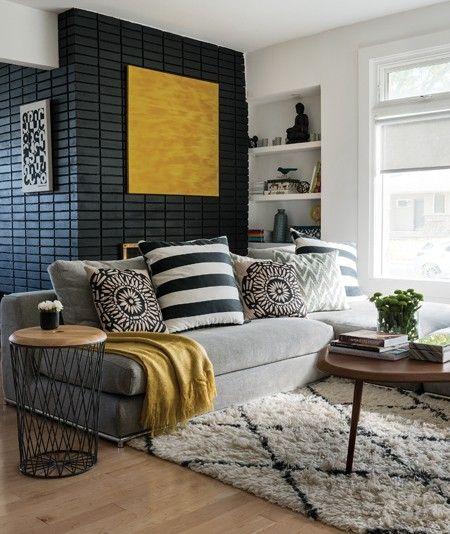 Architecture d'intérieur | Un salon chic | #luminaires, #décoration, #luxe. Plus de nouveautés sur magasinsdeco.fr/