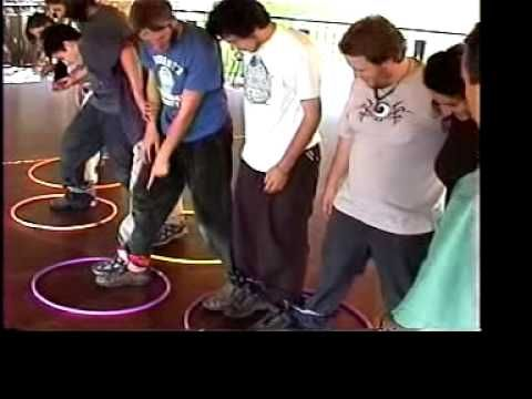 Air Lock teambuilding game. This would be a great game to play with kids to practice leadership skills. You could have the students take turns being the one in charge and giving the group directions. Leadership is another vital social 21st century skill. I would use this in any subject classroom.