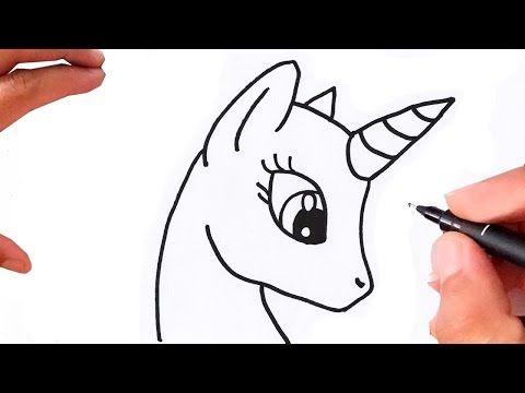 Como Desenhar Unicornio Super Fácil Youtube Em 2020