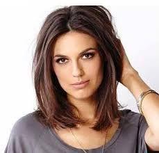 Best Medium Haircuts For Long Faces And Thick Hair Google Search Faces Google Hair Hair Haarschnitt Mittellange Haare Haarschnitt Frisuren Haarschnitte