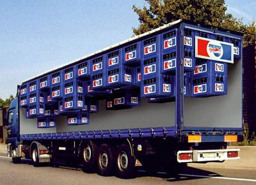 Pepsi Truck Graphic:
