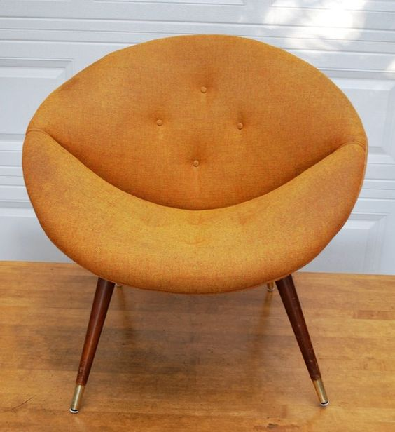 Vintage Saucer Chair The Hippest Galleries