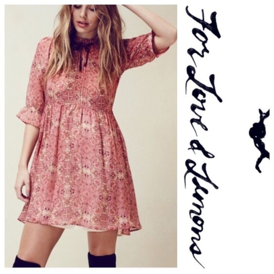 NWT for love and lemons dress Brand new with tags- offers welcome For Love and Lemons Dresses Mini