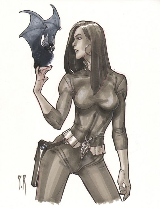 Talia Al Ghul by Stephane Roux