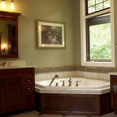 Corner Whirlpool Tub Bathroom Ideas Pinterest Colors