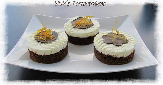 Silvia's Tortenträume: Brownie Cheesecake Kuchen Cake  Schokoladendeko lecker Rezept https://www.facebook.com/SilviasTortentraeume/posts/843462722421384?match=YnJvd25pZQ%3D%3D