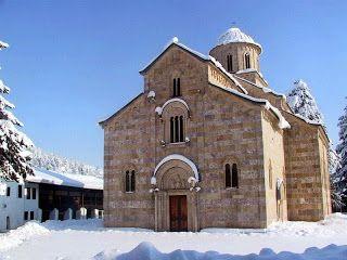Escritos de un hereje: Los misterios del arte (IV): Monasterio de Visoki Decani