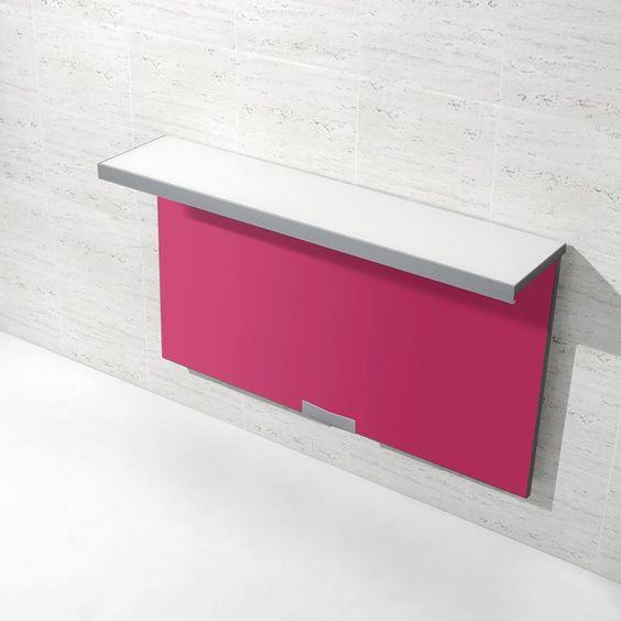 Mesas and colores on pinterest - Mesas de cocina pequenas plegables ...
