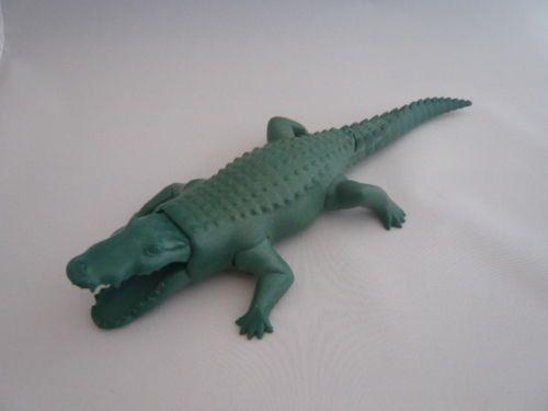 Playmobil-Krokodil-Alligator-Zoo-Tiere-Zirkus-Tierpark-Zubehoer-3541