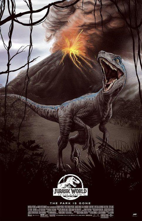 Jurassic World Poster Sara Deck Blue Jurassic World Jurassic
