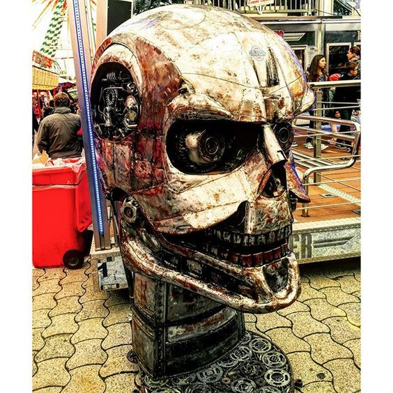 By the Power of Greyskull! #schueberfouer #luxembourg #heman #skull