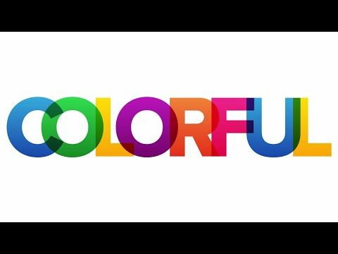 Color text in photoshop