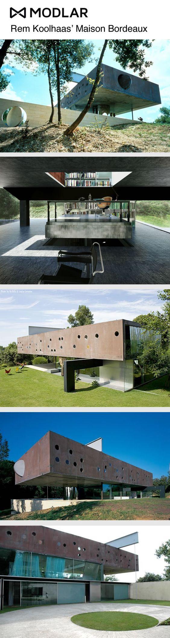 Rem Koolhaas' Maison Bordeaux #Koolhaas Modlar.com
