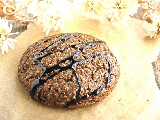 Ginger Molasses Cookies!    #grainfree #vegan #refinedsugarfree