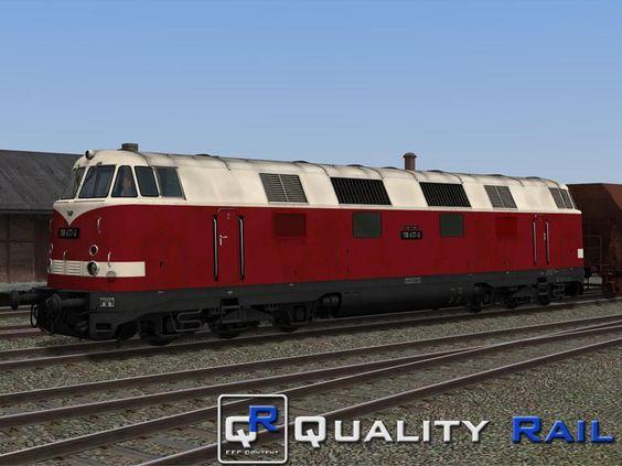 2 #Diesellokomotiven der Baureihe 118.2 , #Sparlack ab 1980 der DR, Epoche IV, (Erweiterungsset:Lokfamilie V180/118/228) . Ab EEP10 http://bit.ly/2-Diesellokomotiven-118-2-Erweiterungsset