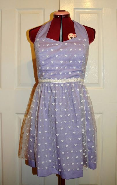 Sorbet Surprise gets Sew Crafty!: Lilac Love Wedding Party Dress