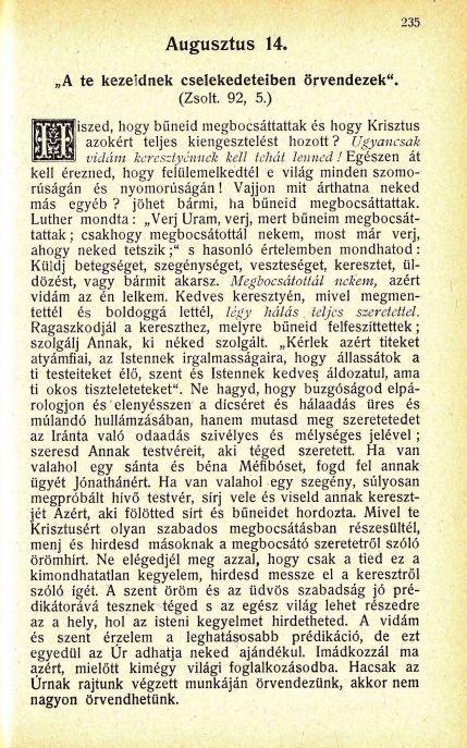 08.14.Spurgeon: Harmatgyöngyök...