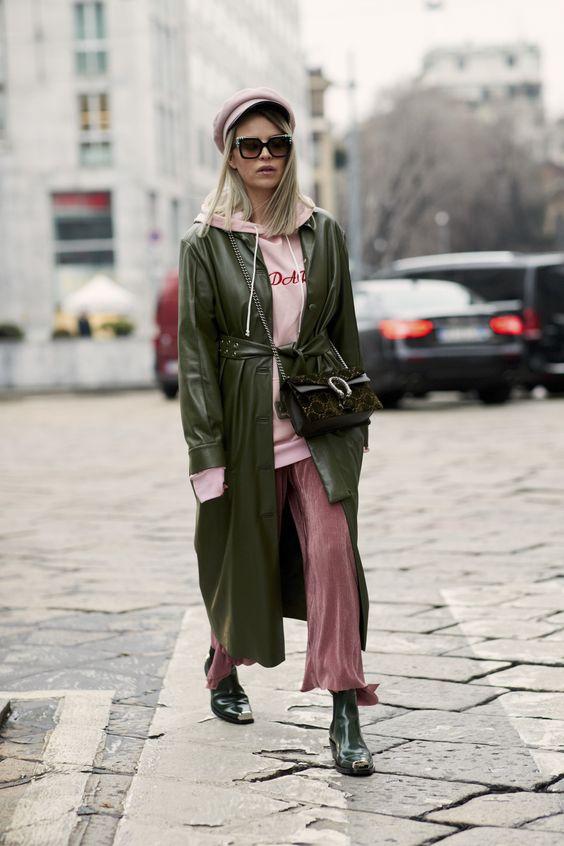 Gli Arcani Supremi (Vox clamantis in deserto - Gothian): Milan Fashion Week Fall 2018 street style