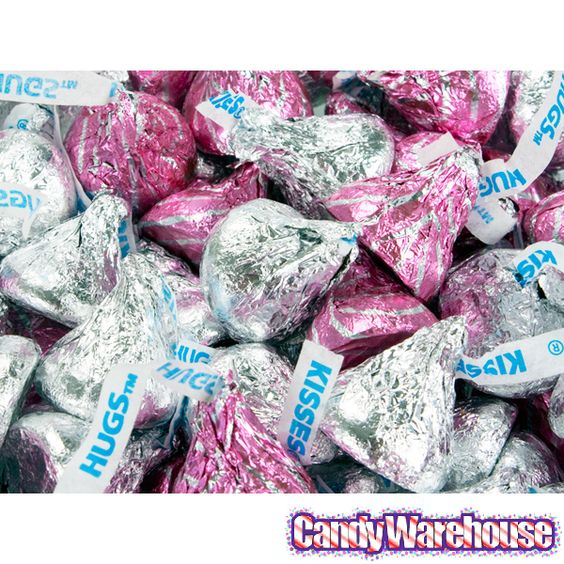 Kisses candy with purple new kisses candy
