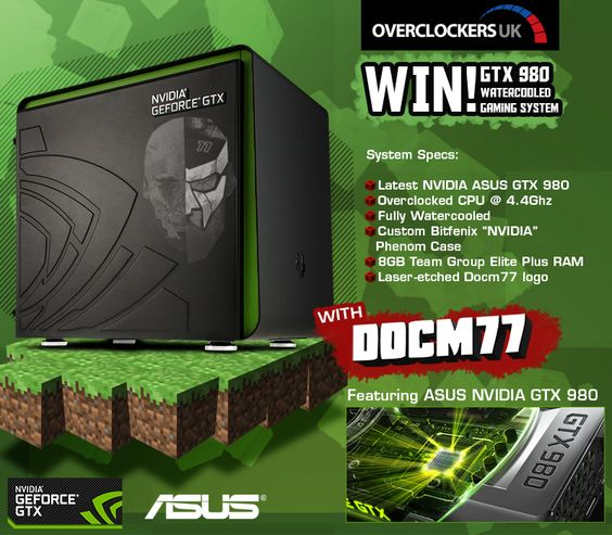 #DOCM77 Big System Give-away including Asus NVIDIA GTX 980!  http://woobox.com/co3rsj/acbnb3 #giveaway