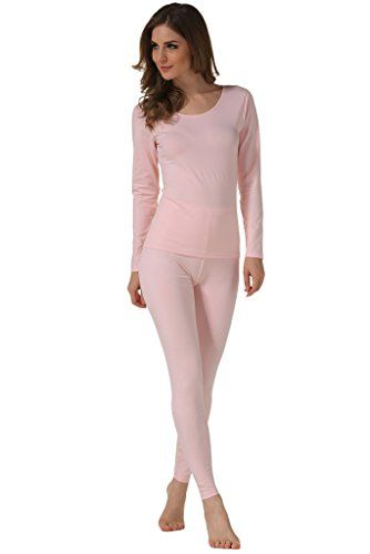 Women's Thermal Underwear - Hieasy Womens Stretch Cotton Thermal ...