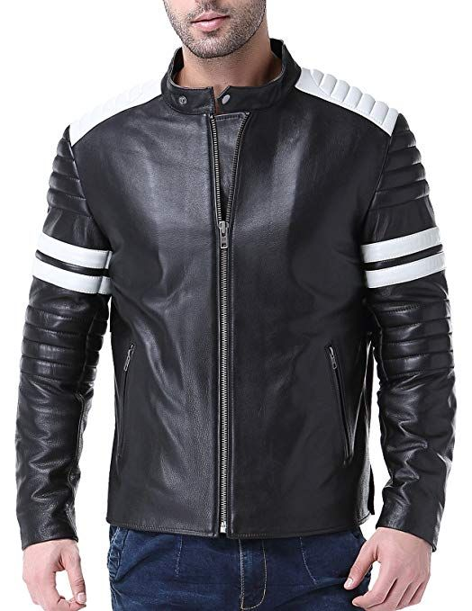 Airborne Leathers Men S Motor Cycle Cow Leather Jacket Review Leather Jacket Tall Men Clothing Coats Jackets Women