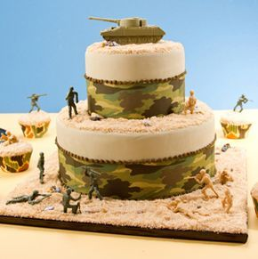 army tank cake instructions   Battle Cake I want to make one for my husband
