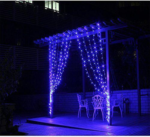 SOLMORE 3m x 3m 300 LED Lichterkette Vorhang Licht Schnur Eiszapfen Eisregen für Innen Weihnachten Party(Blau) SOLMORE http://www.amazon.de/dp/B00YTOX1Y0/ref=cm_sw_r_pi_dp_WK4pwb0F2CSK8
