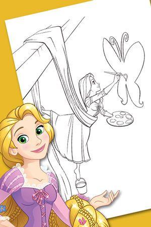 Atividades da Rapunzel