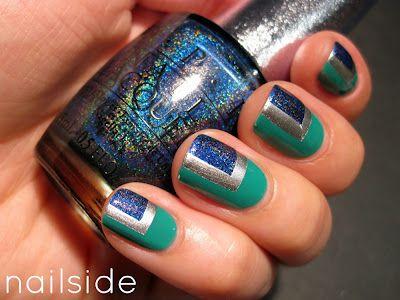 Nailside: Blue