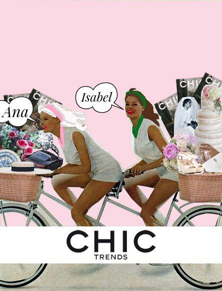 CHIC trends Magazine, una revista, un blog, un medio de Comunicación especializado en bodas y eventos! Nosotras somos sus directoras, Ana e Isabel, y como apasionadas y expertas en el mundo de la moda, el diseño y la publicidad,se nos ocurrió que seria una buena idea asesorar a quienes van a casarse, o a celebrar …