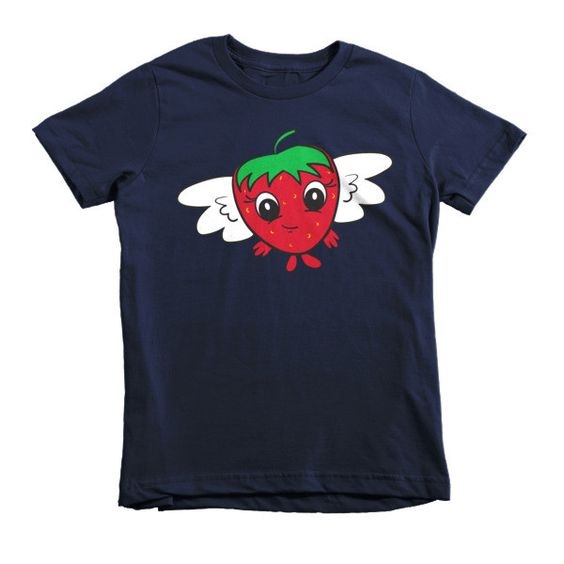 FlyBerry™ Kiddo Logo Short Sleeve Kids T-Shirt