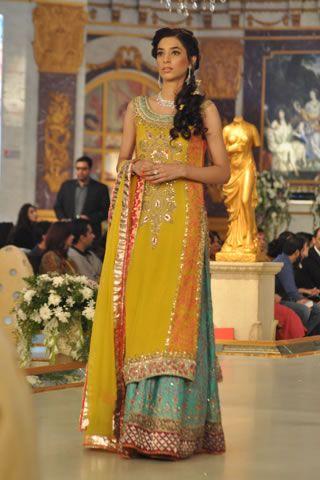 Style 360 mehndi dresses 2015