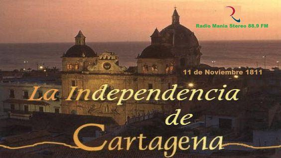 Cartagena era la segunda ciudad más importante de Sudamérica después de la ciudad de Caracas en Venezuela, y se pronunció su independencia de España el 11 de noviembre de 1811.