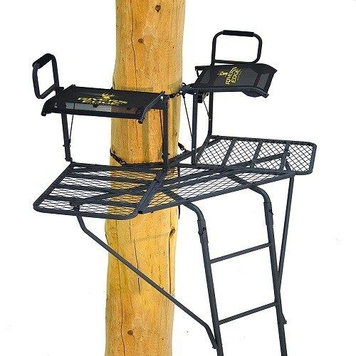 Top 10 Best Ladder Tree Stands Reviews Of 2019 Greathomedepot Laddertreestands Treestands Treestandsreviews H Ladder Stands Ladder Tree Stands Best Ladder