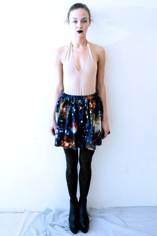 The Short Space Skirt