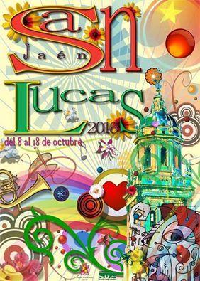 Cartel Fiestas San Lucas Jaen 2016 (del 8 al18 Octubre):