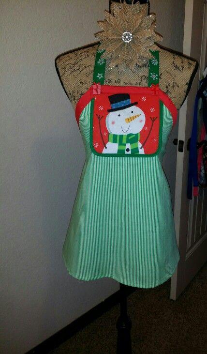 Child Christmas Apron