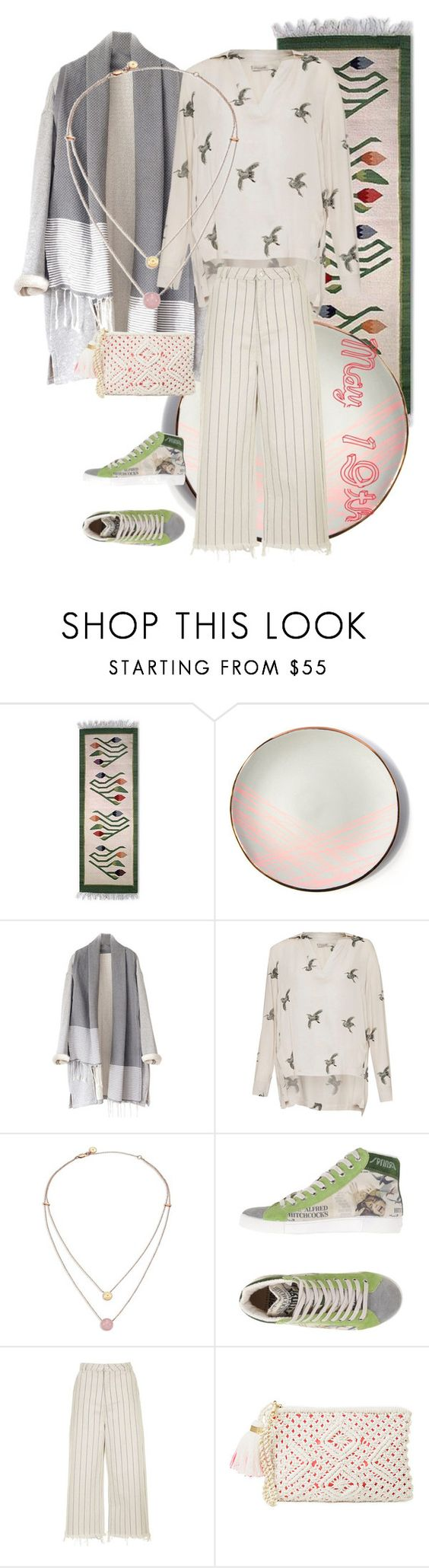 """""""OOTD"""" by yesitsme123 ❤ liked on Polyvore featuring NOVICA, Sarah Cihat, Great Plains, Michael Kors, Springa, Topshop and Lilly Pulitzer"""